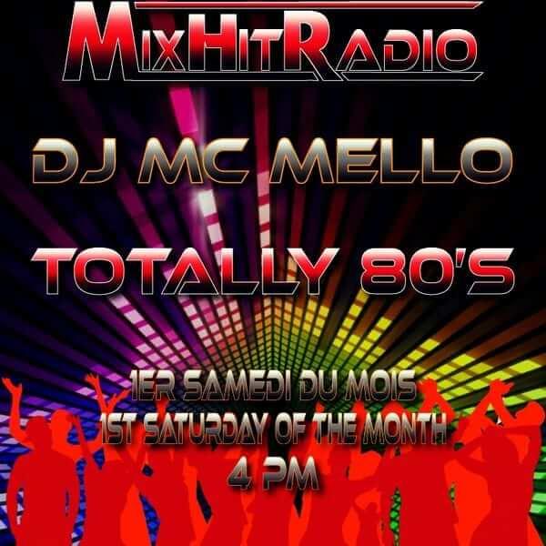 Totally 80's (MixHitRadio) The Full Length Mix Vol 1 - MC MELLO - The80guy.com